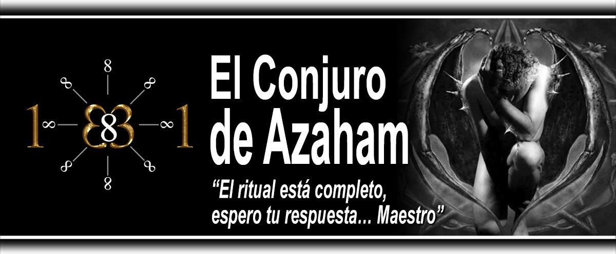 El conjuro de Azaham